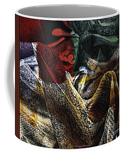 Coffee Mug featuring the photograph Looking For Answers by Kathie Chicoine