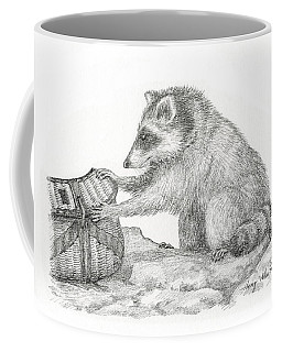 Looking For Trouble Coffee Mug