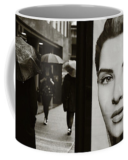 Coffee Mug featuring the photograph Looking For Your Eyes by Empty Wall