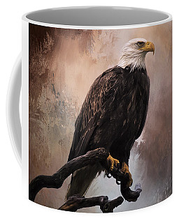 Looking Forward - Eagle Art Coffee Mug