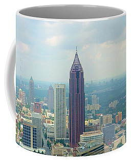 Looking Out Over Atlanta Coffee Mug by Mike McGlothlen