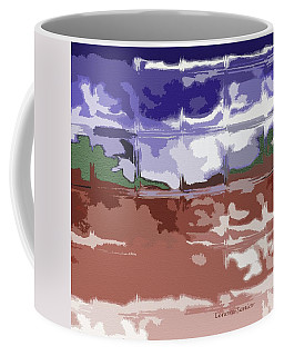 Looking Out Toward The Southwest Coffee Mug by Lenore Senior