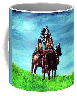 Looking Over Our Domain Coffee Mug