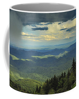 Looking Over The Valley Coffee Mug