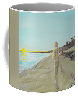 Looking South Tryptic Part 3 Coffee Mug