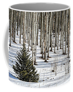 Looking Through The Aspen Coffee Mug