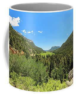 Looking Thru The Valley Coffee Mug
