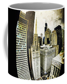 Looking Towards The Southwest And The Sears Tower Coffee Mug