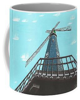 Looking Up At A Windmill Coffee Mug