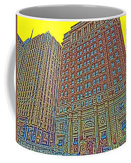 Looking Up In Love Park Coffee Mug