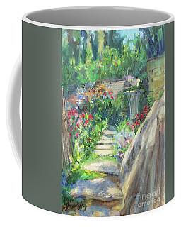 Looking Up The Garden Pathway Coffee Mug