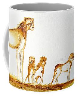 Lookout Post - Original Artwork Coffee Mug