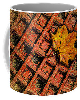 Coffee Mug featuring the photograph Looks Like Another Leaf by Paul Wear