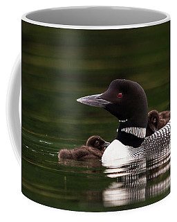Loon Chicks Coffee Mug