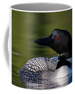 Loon Close Up Coffee Mug