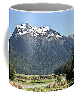 Lord Of The Rings Locations, New Zealand Coffee Mug