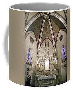 Coffee Mug featuring the photograph Loretto Chapel Santa Fe by Kurt Van Wagner