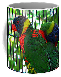 Coffee Mug featuring the photograph Lory by Greg Patzer