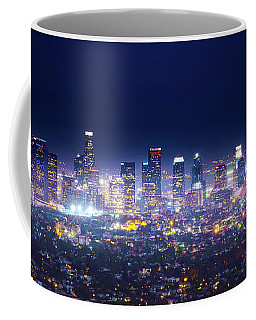 Los Angeles By Night Coffee Mug