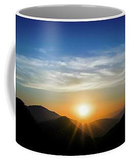 Los Angeles Desert Mountain Sunset Coffee Mug