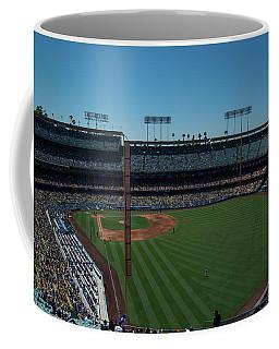 Coffee Mug featuring the photograph Los Angeles Dodgers Dodgers Stadium Baseball 2063 by David Haskett