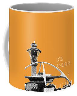 Los Angeles Skyline Lax Spider - Orange Coffee Mug
