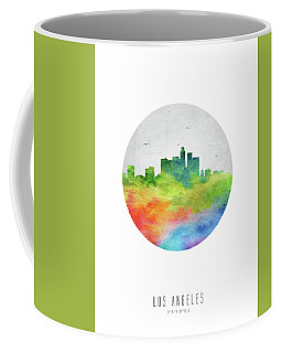 Los Angeles Skyline Uscala20 Coffee Mug