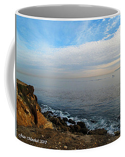 Coffee Mug featuring the photograph Los Angeles Sunset by Joan  Minchak