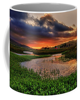 Coffee Mug featuring the photograph Los Osos Valley by Beth Sargent