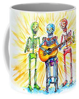 Los Tres Cantantes Coffee Mug by Heather Calderon