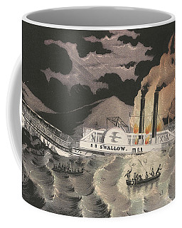 Loss Of The Steamboat Swallow, While On Her Trip From Albany To New York, 1845 Coffee Mug