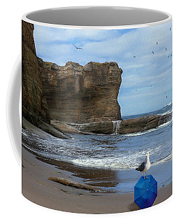 Coffee Mug featuring the photograph Lost And Found by Diane Schuster