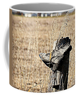 Lost And Found Shoe Coffee Mug by Kathy M Krause