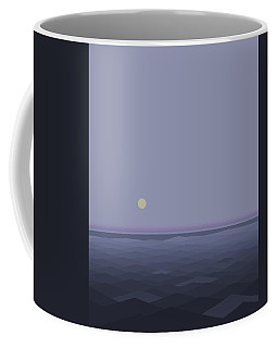 Coffee Mug featuring the digital art Lost At Sea by Val Arie