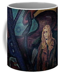 Coffee Mug featuring the painting Lost by Hartmut Jager