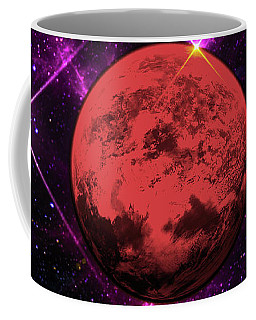Coffee Mug featuring the photograph Lost In Space  by Naomi Burgess