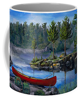 Lost In The Boundary Waters Coffee Mug