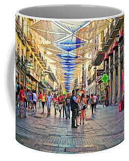 Lost In The Crowd - Spain  Coffee Mug