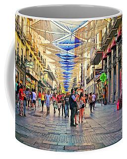 Lost In The Crowd - Spain  Coffee Mug