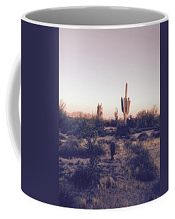 Lost In The Desert Coffee Mug