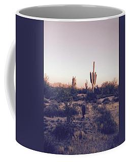 Lost In The Desert Coffee Mug