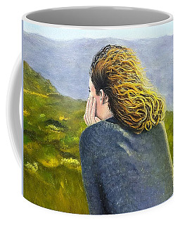 Lost In Thought Coffee Mug by Karyn Robinson
