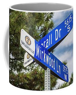 Lotr Mirkwood Street Signs Coffee Mug by Gary Whitton