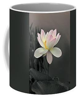Lotus Alight Coffee Mug by Jessica Jenney