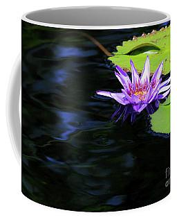 Lotus And Dark Water Refection Coffee Mug