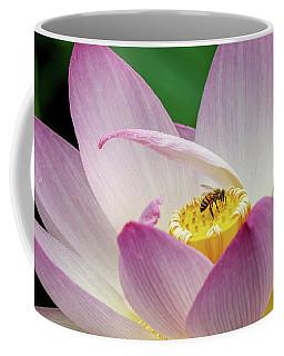 Lotus And The Pollinator Coffee Mug