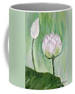 Lotus Emerging Coffee Mug
