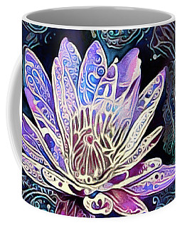 Lotus From The Mud Coffee Mug