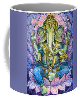 Lotus Ganesha Coffee Mug