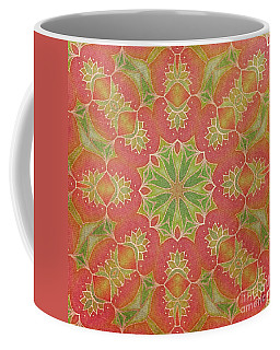 Lotus Garden Coffee Mug by Mo T